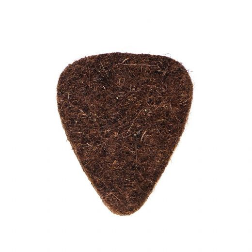 Felt Tones Mini Brown Wool Felt 1 Guitar Pick